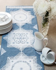 Make This Table Runner With 6 Hankies
