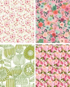 Cosy Project Floral Craft Fabrics