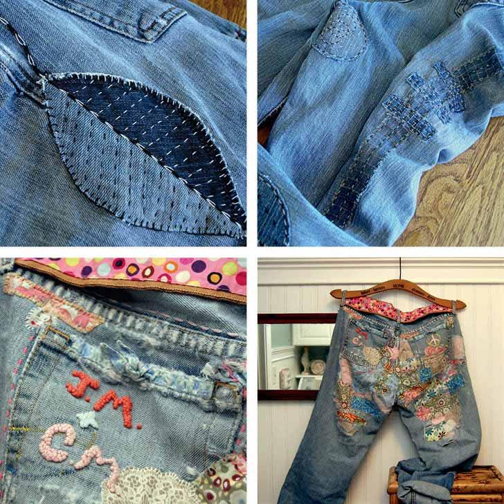 Creative Ways to Mend Fabrics