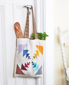 beautiful colourful tote bag