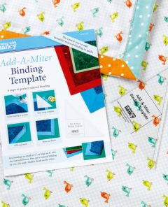 We Test Drive the Add-A-Miter Binding Template