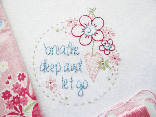 Cameo Embroidery Mounting