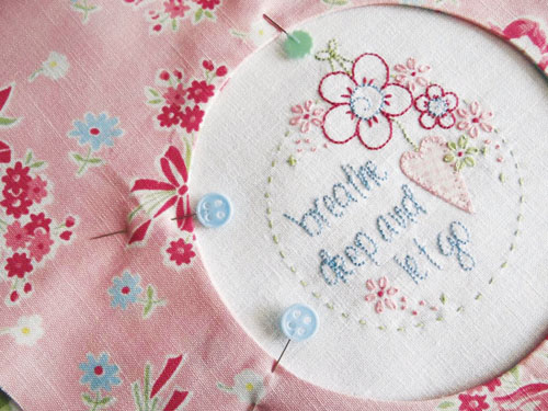 Cameo Embroidery Stitching