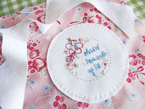 Cameo Embroidery Stitchery