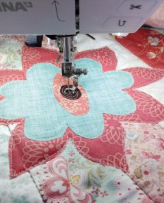 How To Quilt a Jelly Roll Race Quilt by Deborah Louie
