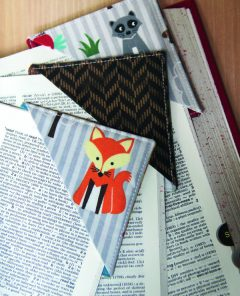 Quick Stitch: Create your own Pyramid Corner Bookmarks by Staci Wendland