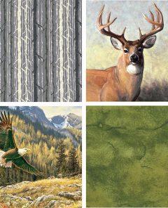 Pattern & Palette Play - Wilderness Fabrics