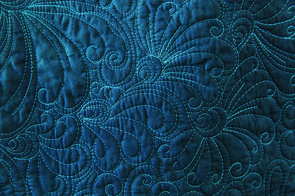 Quilting Advice from Deborah Louie - Hook Feathers