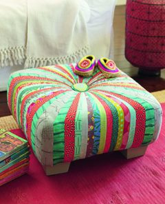 Square Tuffet by Quilter's Cocoon