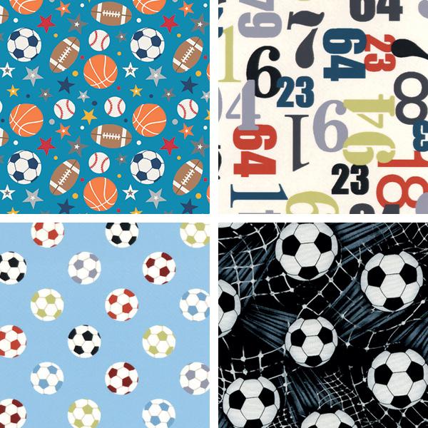 Pattern & Palette Play - Sports Fabrics