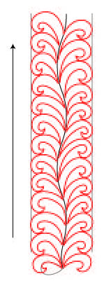 Quilting Advice from Deborah Louie: Hook Feathers