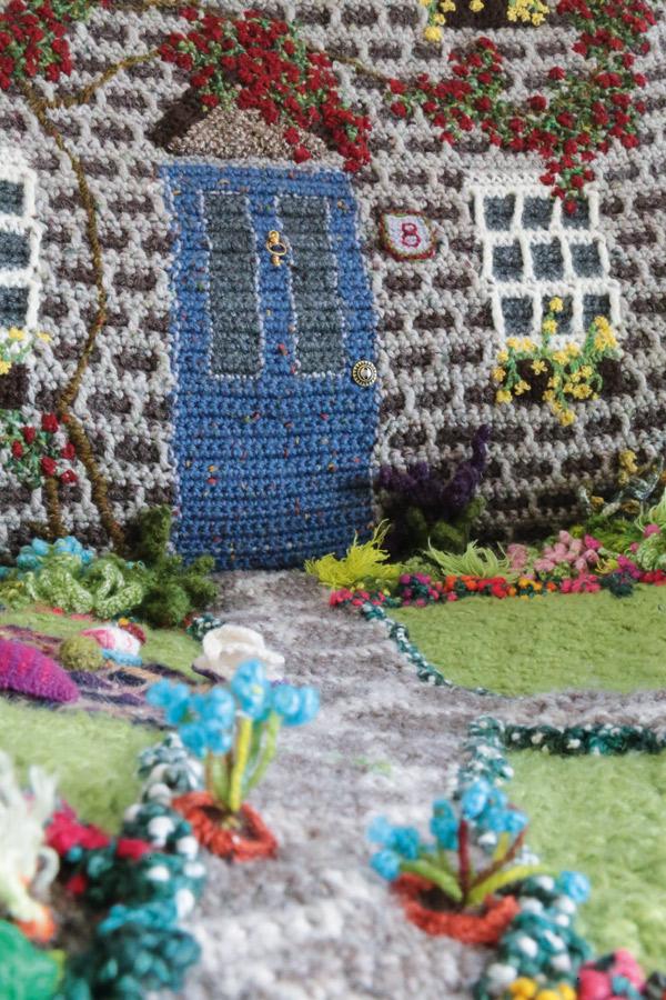 Phil Saul Crochet Doorway