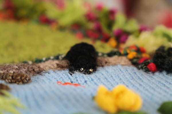 Phil Saul Crochet Pond Cat