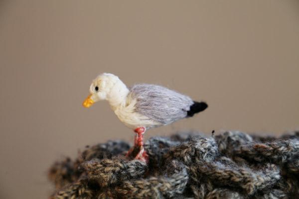 Phil Saul Crochet Seagull