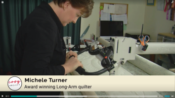 Quilting Tips Michele Turner With Machine
