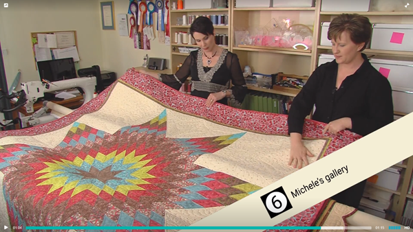 Quilting Tips - Michele Turner With Quilt