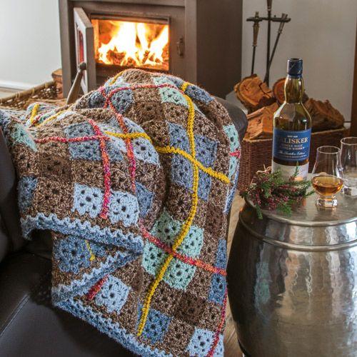 Winter Patterns - 'Clan Mccrochet' Crochet Rug