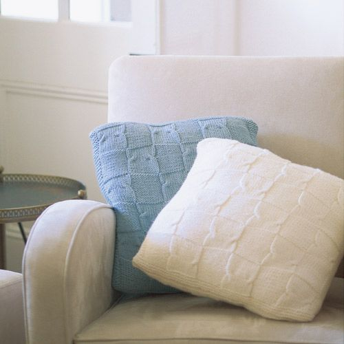 Winter Patterns - Comforting Chequered Cushions