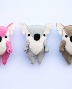 Koala Softie Pattern Feature