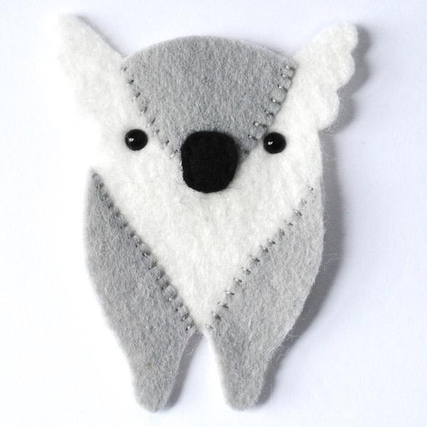 Koala Softie Pattern Step 3