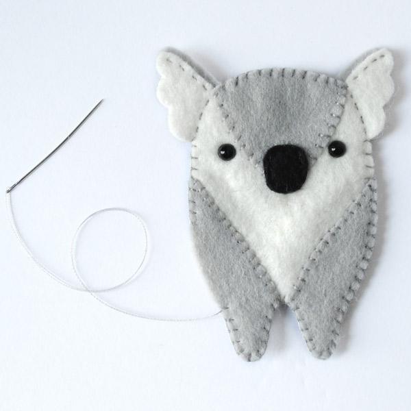 Koala Softie Pattern Step 4