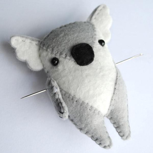 Koala Softie Pattern Step 6