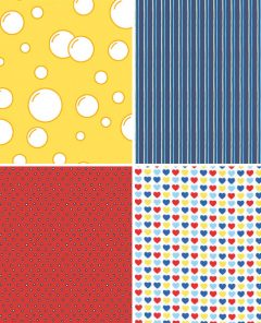 Primary Colour Fabrics 17-20