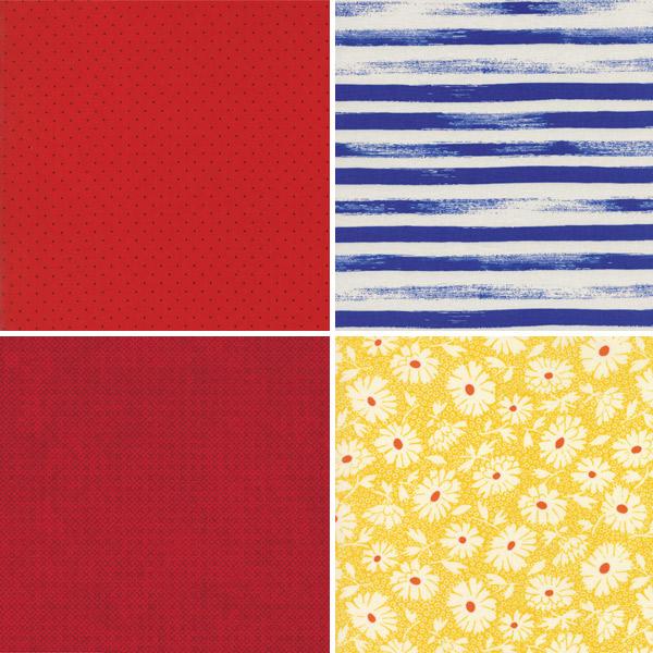 Primary Colour Fabrics 25-28
