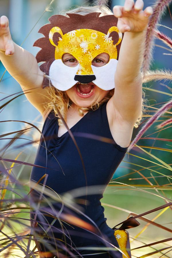 Sarah Hanson Kid Lion Costume