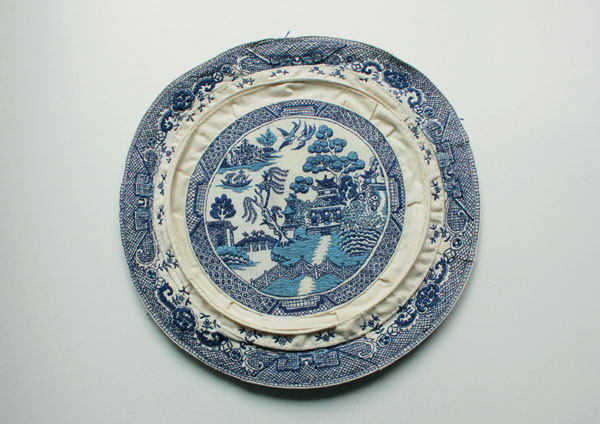 Blue Willow Plate 2016