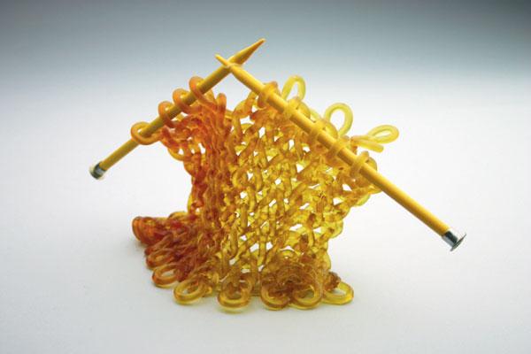 Carol Milne 2 knitting