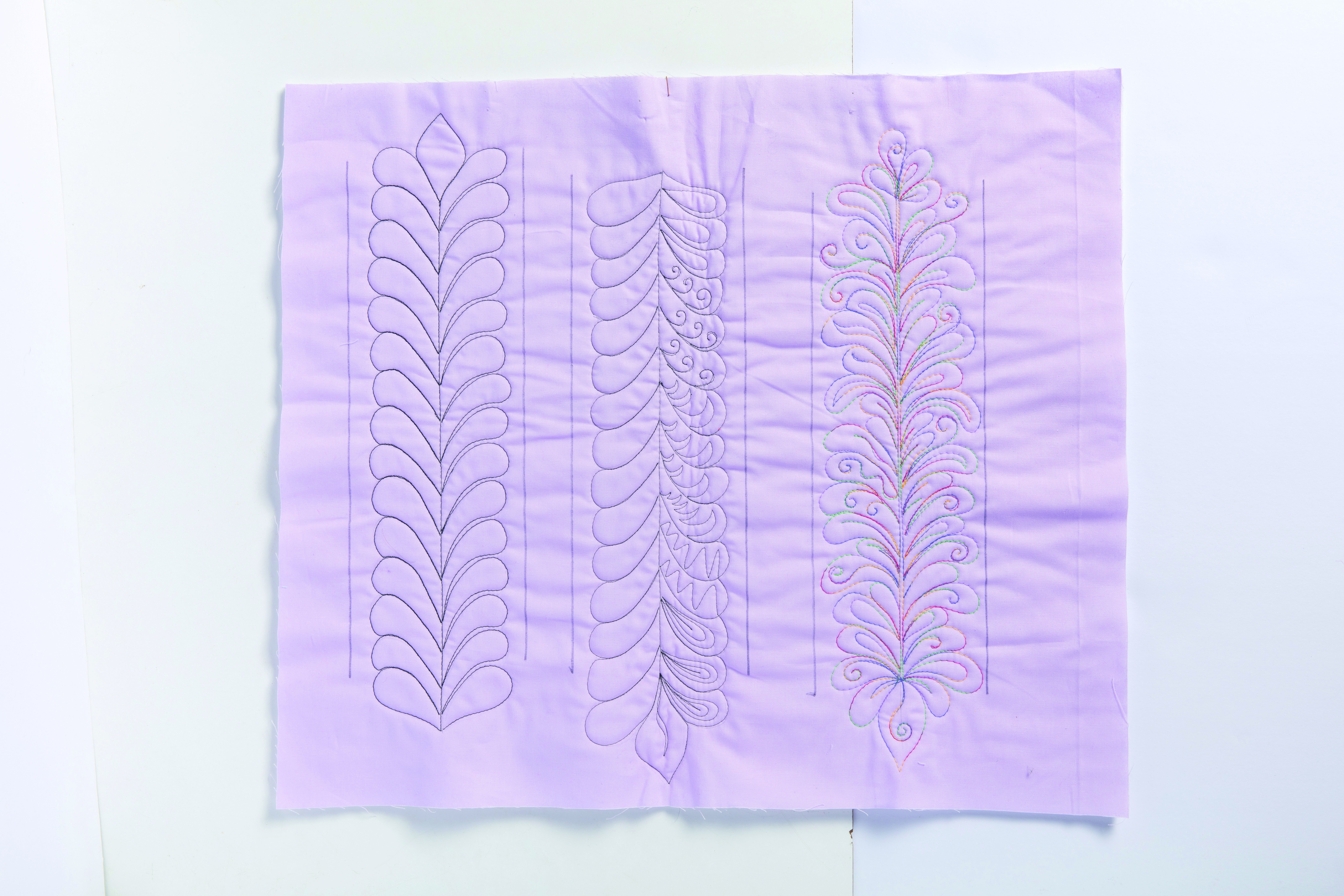 Deb Louie Stitched Samples Original Image