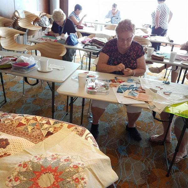 Workshop Onboard The Cruise