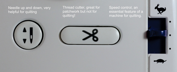 Quilter Companion Button
