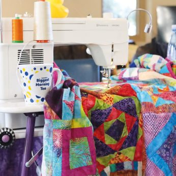 Anita Ellis Quilters Companion Setting Up Quilting Space Image 1
