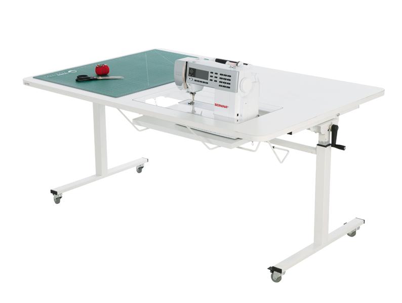 Height Adjustable Table Open